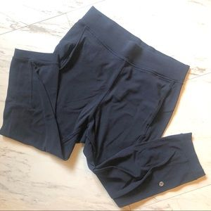 Midnight Blue Size 8 Cropped - With Pockets